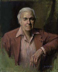 Portrait of Everett Raymond Kinstler. Saw Michael Shane Neal painting this with Mr. Kinsler posing at the 2011 Portrait Society of America meeting in Atlanta GA.