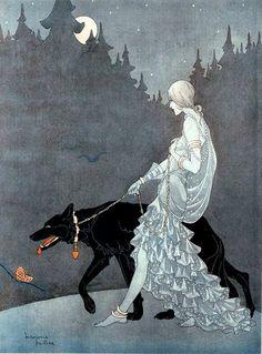 #art / Marjorie Miller, Queen of the Night, 1931