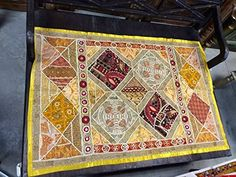 Antique Collections of Indian Home Decor: Vinatge Indian Inspried Tapestry