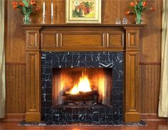89 best fireplace mantel surrounds images fire places living room rh pinterest com