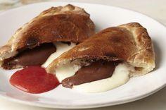 Ricotta and Chocolate-Hazelnut Calzones