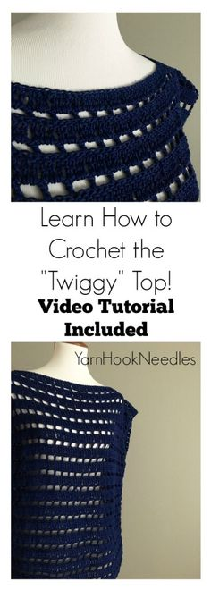 Learn How to Crochet This Cotton Summer Top! It's So Easy and Includes a Video Tutorial! - YHN -