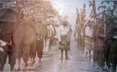 Desfile Septembrino de la Cd.de Mexico D F (  Celebracion del Centenario en 1910 )