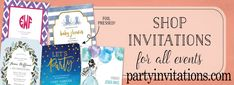 The Perfect party invitation for the Perfect Party. Unique digital and printed cards are available. Starfish Art, Perfect Party, Birthday Party Invitations, Photo Cards, Baby Shop, Holiday Cards, Announcement, Stationery, Digital