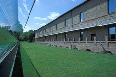 Manica lunga del Castello di Rivoli, Andrea Bruno. © Bruna Biamino, Andrea Bruno, Guido Fino, P. Pellion