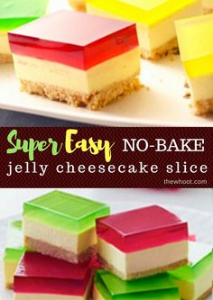 You are going to love this Jelly Cheesecake Recipe No Bake family favorite and it is easy and delicious. This is a very special treat that you will love. bites easy bites keto bites mini bites no bake bites no bake easy bites recipes Keto Desserts, Custard Desserts, Just Desserts, Dessert Recipes, Keto Cheesecake, Jelly Cheesecake, Classic Cheesecake, Homemade Cheesecake, Banana Split