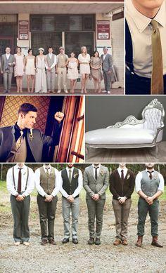 1920s wedding inspiration - The Great Gatsby  www.enchantedempire.com.au