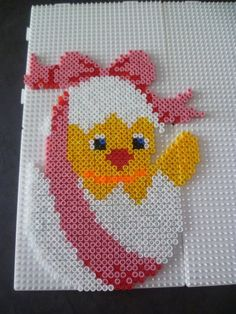 Easter egg hama perler by mamypapou