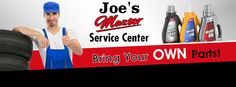 Facebook Banner for Joe's master Service Center - http://orimega.com/facebook-cover-design/