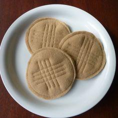 Peanut Butter Cookies - Felt Play Food. $8.00, via Etsy.