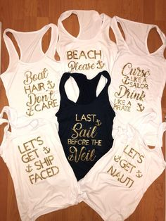 Top 5 Bachelorette Party Tips to Make Any Party a Success - Last Sail before th.-Top 5 Bachelorette Party Tips to Make Any Party a Success – Last Sail before th… Top 5 Bachelorette Party Tips to Make Any Party a… - Bachelorette Cruise, Nautical Bachelorette Party, Bachelorette Party Planning, Bachlorette Party, Bachelorette Party Shirts, Cruise Wedding, Wedding Vows, Wedding Dresses, Wedding Fun