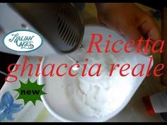 Ricetta ghiaccia reale (royal icing recipe) by ItalianCakes - YouTube