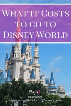 Disney World family vacation cost details, summary of Yahoo Finance article. Budget to luxury. Compare costs of family travel trip to Disney vs Europe.