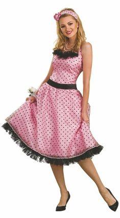 c5c4d7535e8b4 #Polkadotdress #50s #Halloween #Costume #Housewife Baby Halloween Costumes,  Adult Halloween