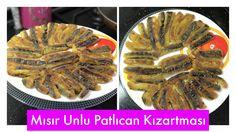 Mısır Unlu Patlıcan Kızartması Tarifi - Naciye Kesici - Yemek Tarifleri