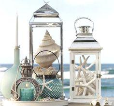 Beach Lanterns -Display Shells