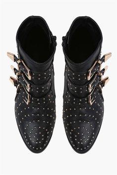 Khloe Booties in Black