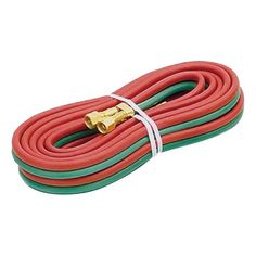 Acetylene Hose Dual Line 20Ft., Multicolor
