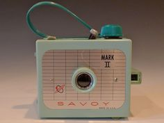 Mint Green Imperial Savoy Six Twenty Flash Vintage Box Camera