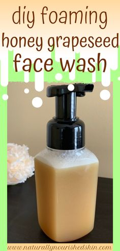 This DIY face wash is moisturizing for all skin types! This DIY face wash is moisturizing for all skin types! Homemade Skin Care, Homemade Beauty Products, Diy Skin Care, Skin Care Tips, Skin Tips, Anti Aging Skin Care, Natural Skin Care, Natural Makeup, Natural Beauty