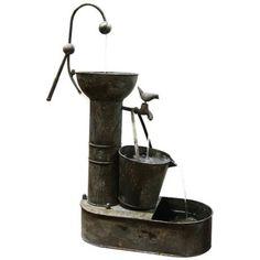 Ashbridge Tiering Tin Fountain