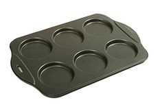 Norpro Puffy Muffin Top Pan Makes 6 Non Stick High Rise Crown 4 Wide 5 Deep * See this great product.Note:It is affiliate link to Amazon.