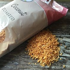 Coconut Flakes Toasted / 9 oz Toasted Coconut CK Products