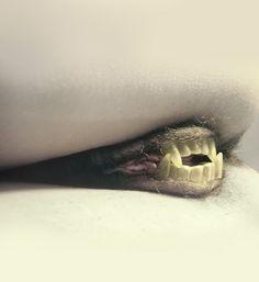 """""""La porta del diavolo"""" - esta me la censuran fijo.  Particular visión del mito de la vagina dentata del fotógrafo Silvio Giordano -"""
