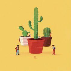 Humor y ersi 243 n en las ilustraciones de jack hudson furiamag