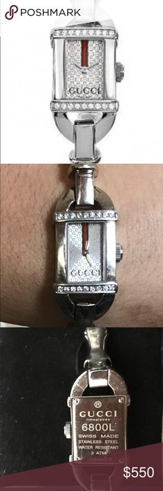 WOMENS GUCCI DIAMOND WRISTWATCH GUCCI DIAMOND WRISTWATCH Gucci Accessories Watches