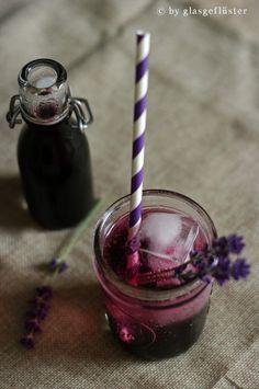 Blaubeer Lavendel Sirup by Glasgeflüster 3 klein