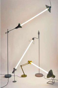Pivoting Timber Fixtures : 360° Lamp