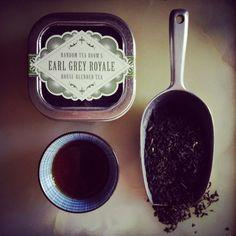 Earl Grey Royale Loose Leaf Tea 2oz. Tin by RandomTeaRoom on Etsy