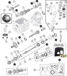 amc v 8 5 0l 304 and 5 9l 360 engine parts for jeep cj s wagoneer rh pinterest com jeep 304 engine diagram AMC 304 Firing Order