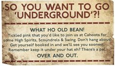 Game to join the rascals for a knees-up? Join our mischievous band of scoundrels keeping the Blitz spirit alive hosting nightly parties deep underground.