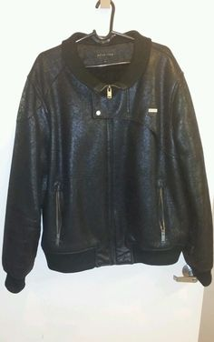 accepting best offers!Sean John Leather Jacket 3XL Pre-Owned  2013  #SeanJohn #Leather