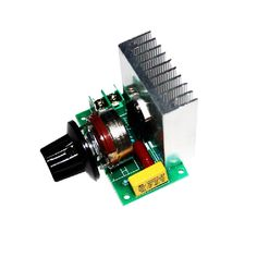 3800W import silicon controlled High power <font><b>electronic</b></font> dimmer Voltage regulator, speed governing and thermoregulation | SCT Store