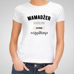 Koszulka personalizowana damska MAMADŻER