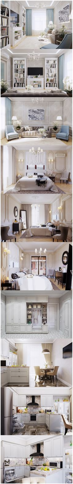 Квартира в неоклассике - Галерея 3ddd.ru
