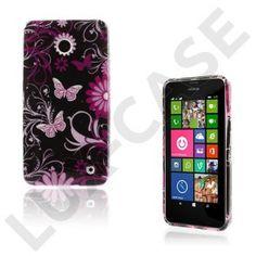 Westergaard (Fjäril & Blommor) Nokia Lumia 630 / 635 Skal