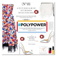 """No 335:PolyPower"" by lovepastel ❤ liked on Polyvore featuring Roksanda, Vince, Christian Louboutin, Jimmy Choo, Vanity Fair, Sinclair, Chanel and PolyPower"