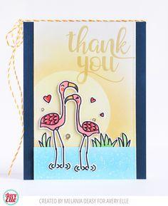 "MELANIA DEASY: Avery Elle "" Flamingos """