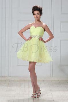 Elegant Sweetheart Mini Length Veleria's Prom/Homecoming Dress