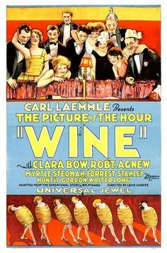 """""""Wine"""" - Clara Bow"""