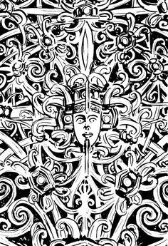 Dayak Ornamet by sisank.deviantart.com on @deviantART