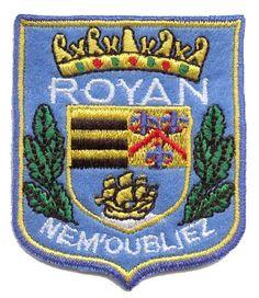 Ecusson ville de Royan