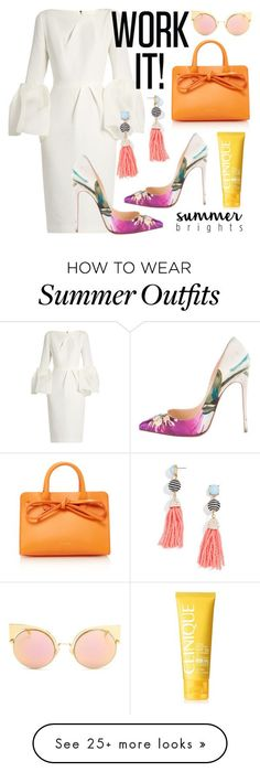 "Summer Outfits : ""Work on Summer"" by indysimo on Polyvore featuring Roksanda Mansur Ga"