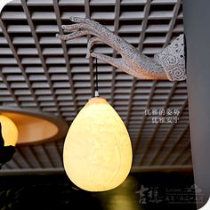 Ausp ious home of modern Chinese wall lamp [drenched living room wall Creative Lighting bedroom Zen bergamot lamps - ZZKKO http://zzkko.com/n3707 $ 26.03