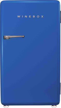 Adega Winebox • Designed by Cia Vintage • Azul Bic/Navy Blue