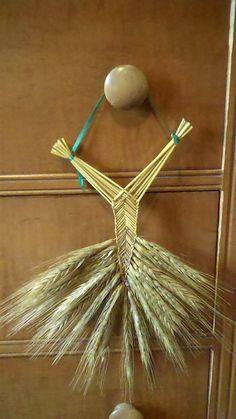 Wheat Weaving Tutorial: Welsh Fan